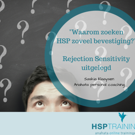 Rejection Sensitivity en HSP
