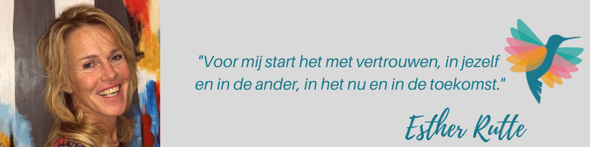 Esther Rutte quote hsp hss coach Amersfoort anahata