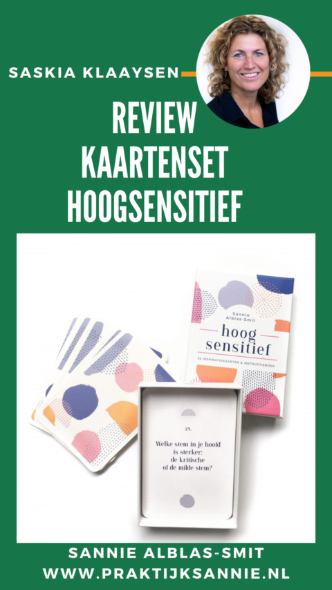 Review kaartenset Hoogsensitiviteit Sannie Alblas-Smit